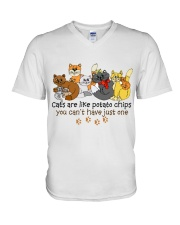 Cat Love  V-Neck T-Shirt thumbnail