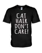Cat V-Neck T-Shirt tile