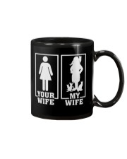 MY WIFE LOVE CATS Mug front