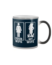 MY WIFE LOVE CATS Color Changing Mug thumbnail