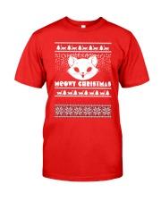 Meowy Christmas Tshirts Classic T-Shirt thumbnail
