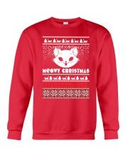 Meowy Christmas Tshirts Crewneck Sweatshirt front