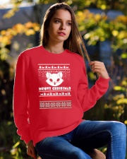 Meowy Christmas Tshirts Crewneck Sweatshirt lifestyle-unisex-sweatshirt-front-6