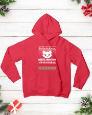 Meowy Christmas Tshirts Hooded Sweatshirt lifestyle-holiday-hoodie-front-3