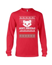 Meowy Christmas Tshirts Long Sleeve Tee thumbnail