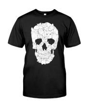 Cat Skull Classic T-Shirt front