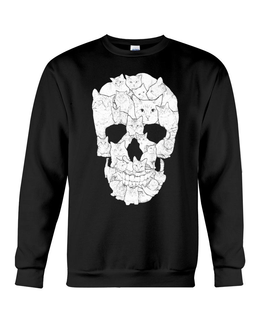 Cat Skull Crewneck Sweatshirt