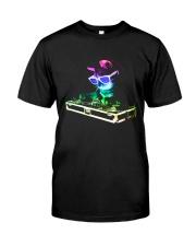 Cat DJ T-Shirt Classic T-Shirt thumbnail