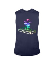 Cat DJ T-Shirt Sleeveless Tee thumbnail