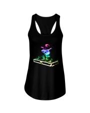 Cat DJ T-Shirt Ladies Flowy Tank thumbnail