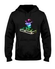 Cat DJ T-Shirt Hooded Sweatshirt thumbnail