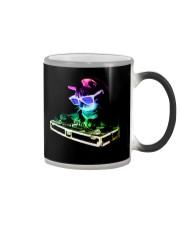 Cat DJ T-Shirt Color Changing Mug thumbnail