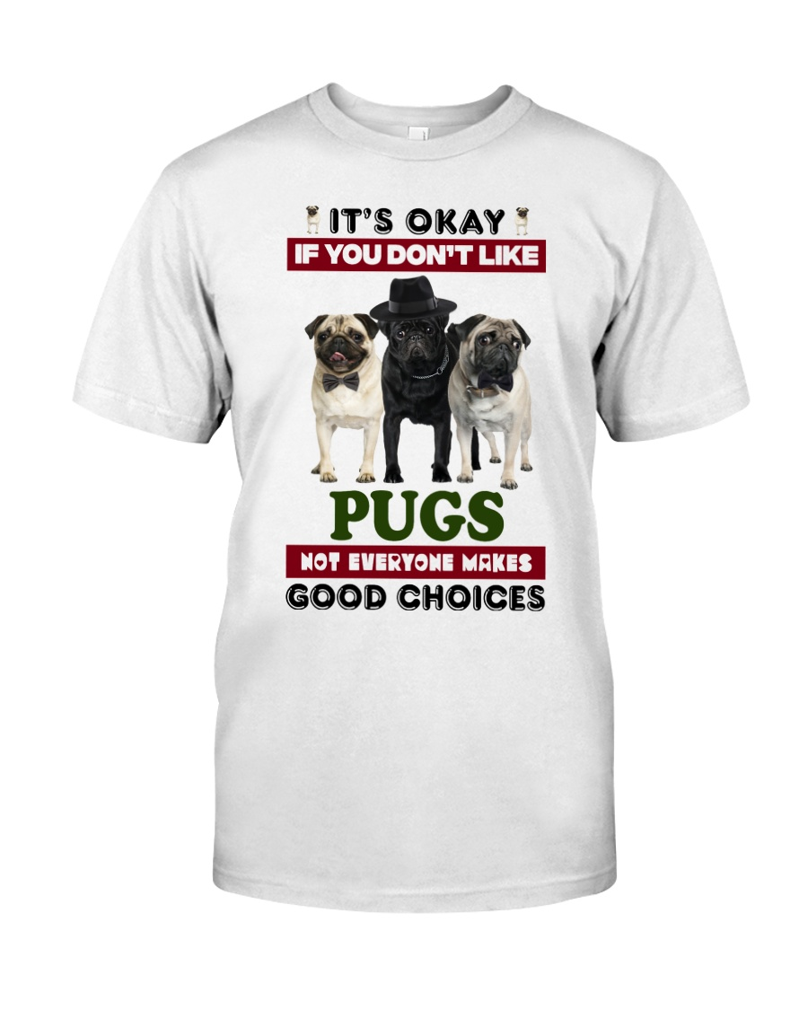 Just a woman loves her Pug Classic T-Shirt