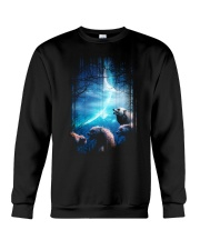 I Love Wolves Crewneck Sweatshirt thumbnail