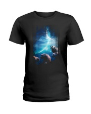 I Love Wolves Ladies T-Shirt thumbnail
