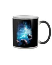 I Love Wolves Color Changing Mug thumbnail