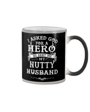 Hero Nutty Husband Color Changing Mug thumbnail