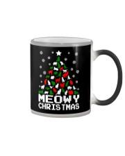 Meowy Christmas Color Changing Mug thumbnail