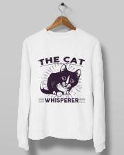 Cat Crewneck Sweatshirt lifestyle-unisex-sweatshirt-front-10
