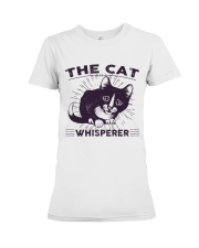 Cat Premium Fit Ladies Tee front