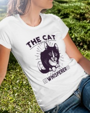 Cat Premium Fit Ladies Tee lifestyle-women-crewneck-front-8