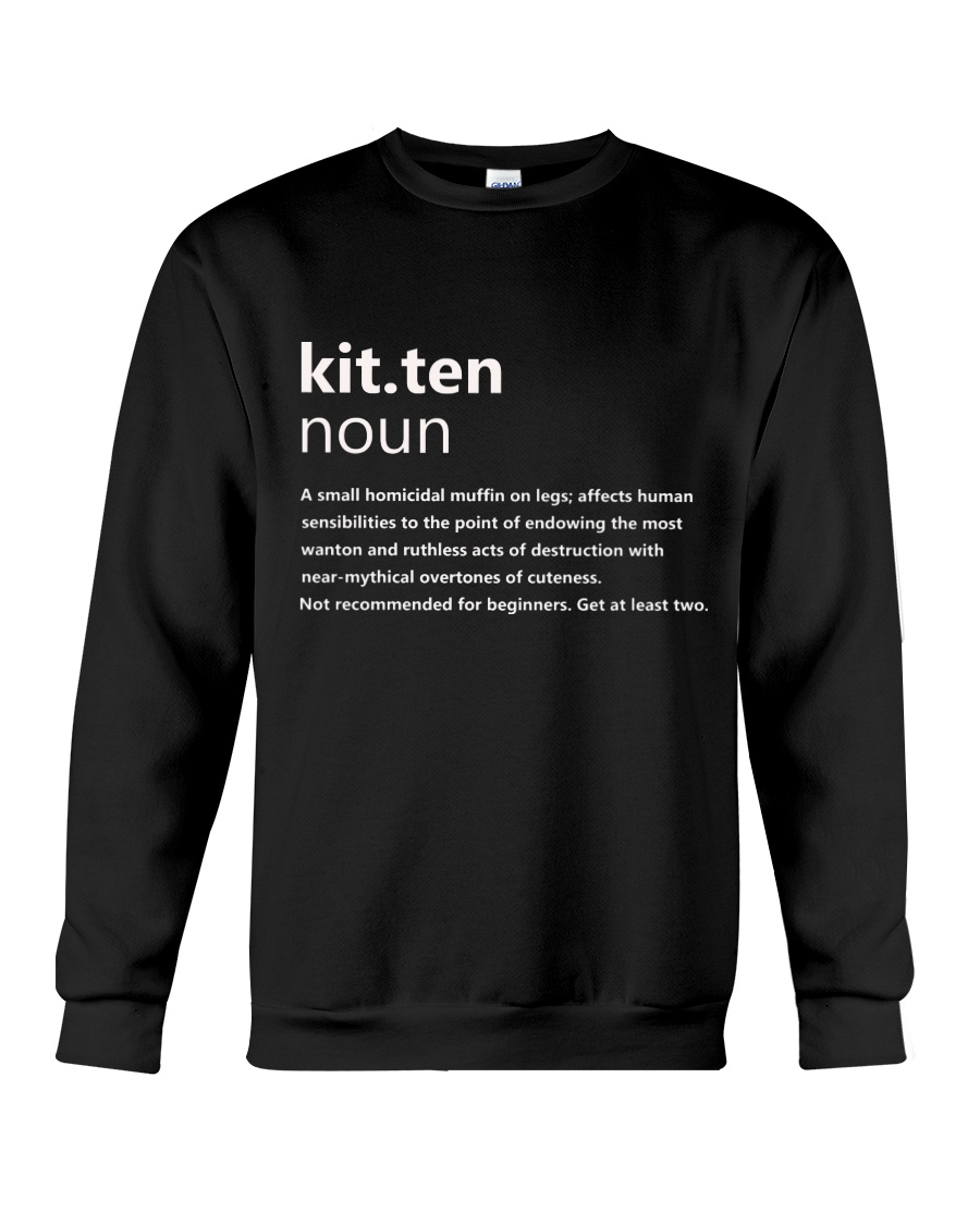 Kitten Crewneck Sweatshirt