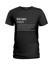 Kitten Ladies T-Shirt thumbnail