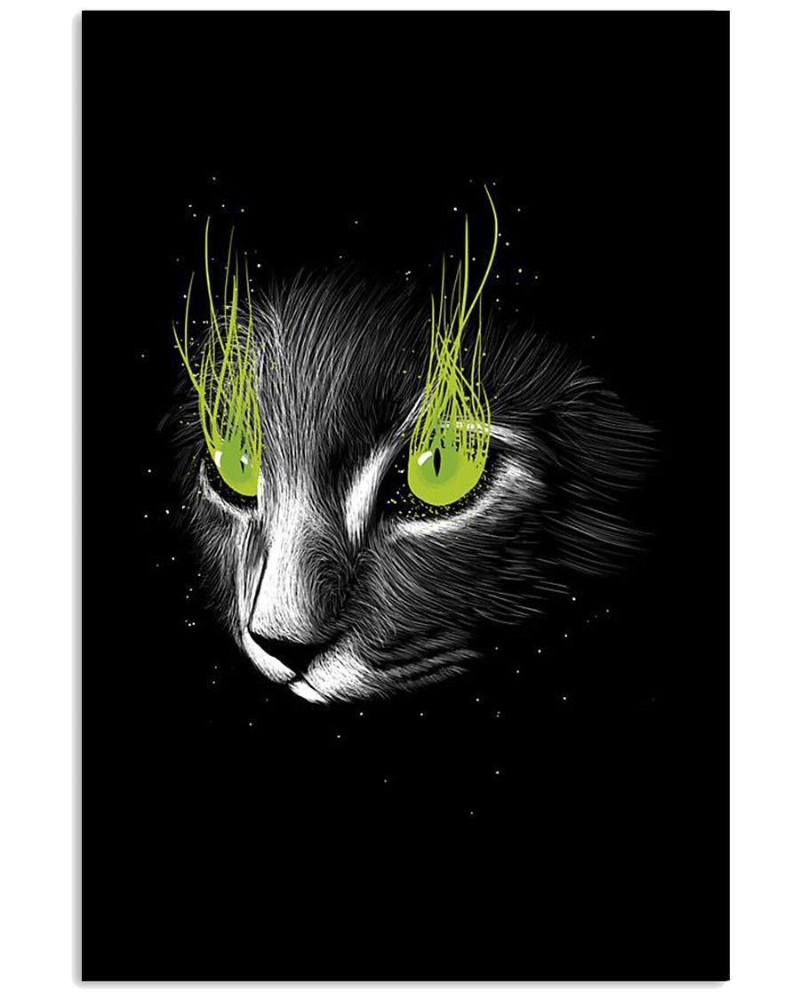 Cat Black Poster 11x17 Poster