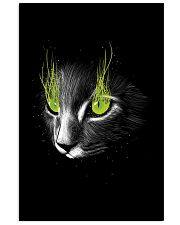 Cat Black Poster 11x17 Poster front