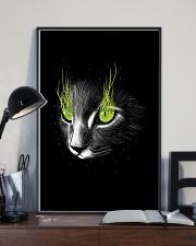 Cat Black Poster 11x17 Poster lifestyle-poster-2