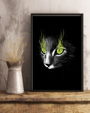 Cat Black Poster 11x17 Poster lifestyle-poster-3