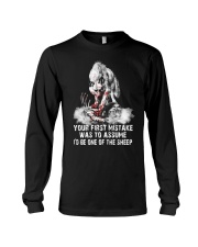 WOLF SHEEP MISTAKE  Long Sleeve Tee thumbnail