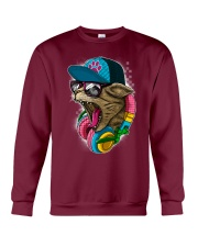 Cool and Wild Cat Shirt Crewneck Sweatshirt front