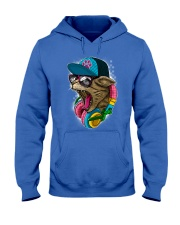 Cool and Wild Cat Shirt Hooded Sweatshirt thumbnail