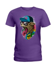 Cool and Wild Cat Shirt Ladies T-Shirt thumbnail