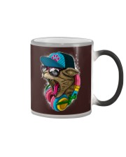 Cool and Wild Cat Shirt Color Changing Mug tile