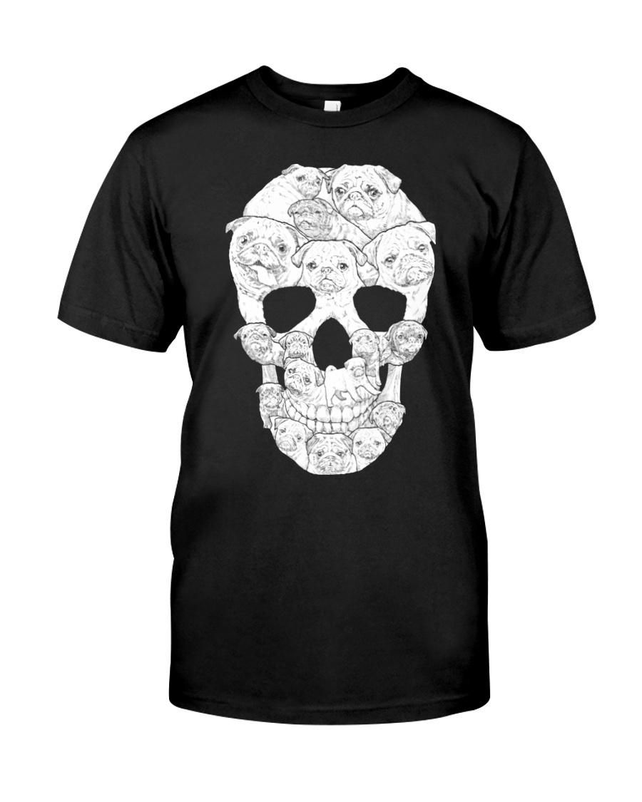 Pug Skull Classic T-Shirt