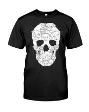 Pug Skull Classic T-Shirt front