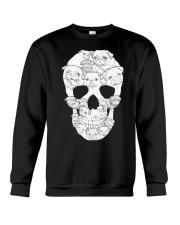 Pug Skull Crewneck Sweatshirt thumbnail