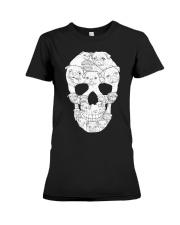 Pug Skull Premium Fit Ladies Tee thumbnail