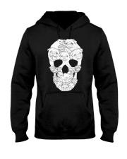 Pug Skull Hooded Sweatshirt thumbnail