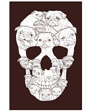 Pug Skull 11x17 Poster thumbnail