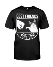 Best Friends For Life - Cat Classic T-Shirt thumbnail