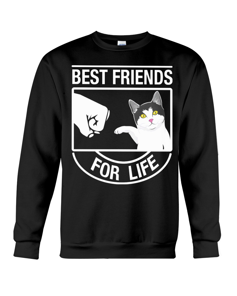 Best Friends For Life - Cat Crewneck Sweatshirt