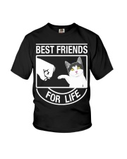 Best Friends For Life - Cat Youth T-Shirt thumbnail