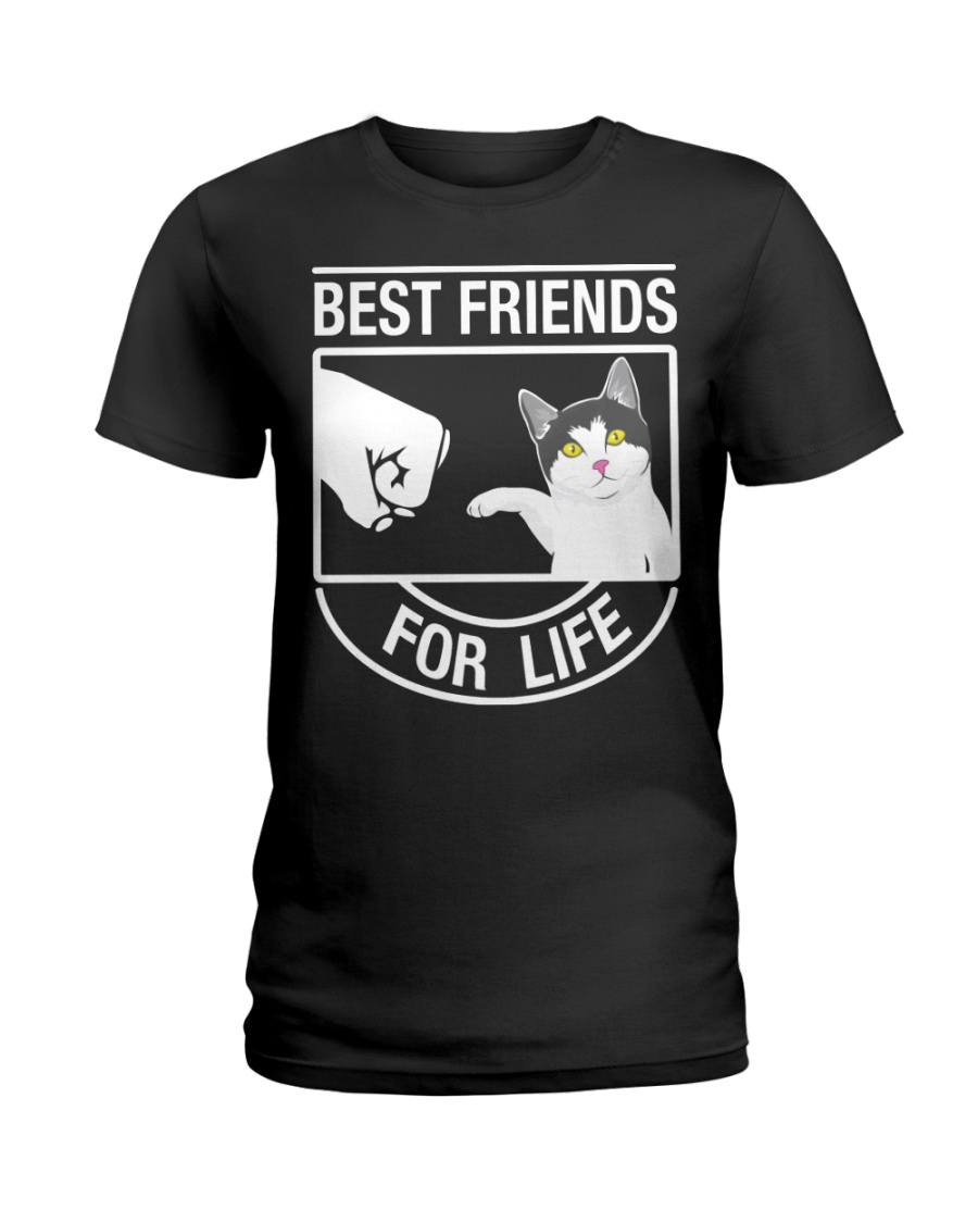 Best Friends For Life - Cat Ladies T-Shirt