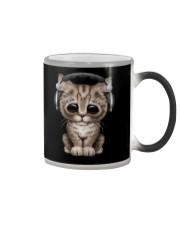 Cat Cute DJ Color Changing Mug thumbnail