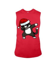 Gift Christmas Cat T-shirt Sleeveless Tee thumbnail