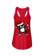 Gift Christmas Cat T-shirt Ladies Flowy Tank thumbnail