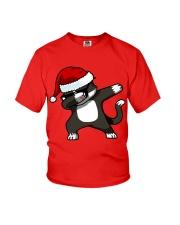 Gift Christmas Cat T-shirt Youth T-Shirt thumbnail